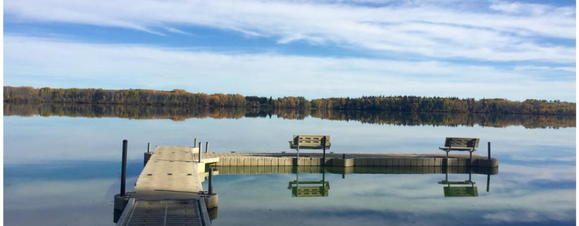 Fishing in Goose Lake