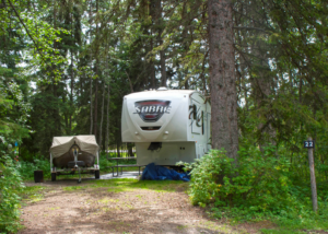 Goose Lake Camp Sites